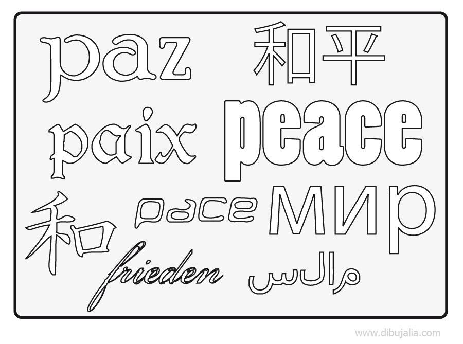 Disegni Sulla Pace Nel Mondo Da Colorare Chiesa Di Dara Marsala