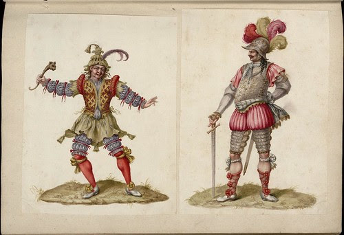 Jean Berain, Habillemens et Décoration d'Opéra, 18th cent. (Versailles)