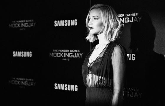 Jennifer Lawrence, en la premiere de Sinsajo 2
