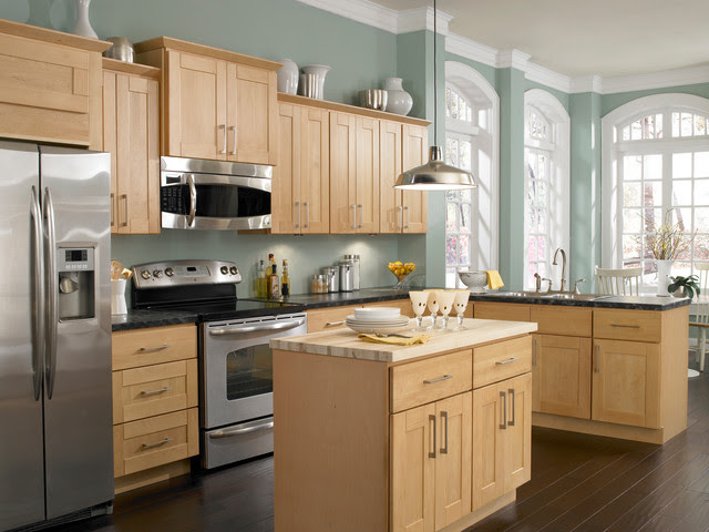 What to Expect From Light Wood Kitchen Cabinets - My ...