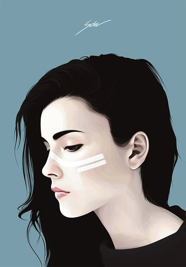 Spectacular Digital Painting Portraits (21)