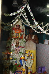 Ganesh Head Priest Marriamman Temple Macchimar Colony Mahim by firoze shakir photographerno1