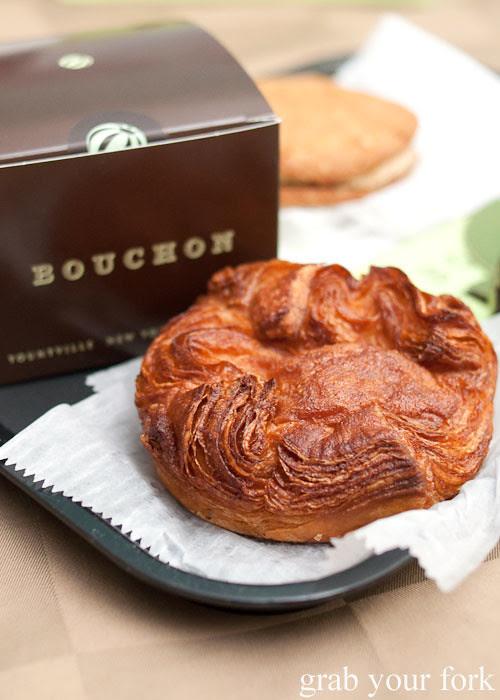 kouign amann from bouchon bakery beverly hills la los angeles