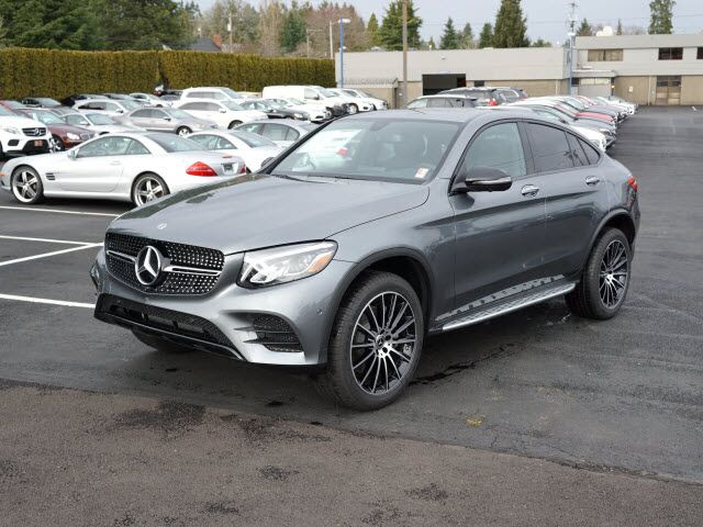 2018 Mercedes-Benz GLC 300 4MATIC® Coupe Salem OR 22073836