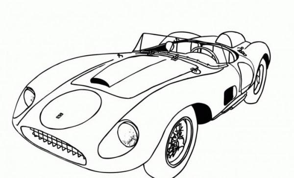 Dibujos Para Colorear De Carros Deportivos Wwwimagenesmicom