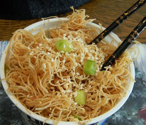 Sesame Scallion Schezuan Noodles