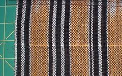 sky fabric pulled thread