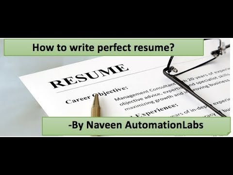 Naveen Automationlabs Sample Resume Automation Qa Engineer 2 7