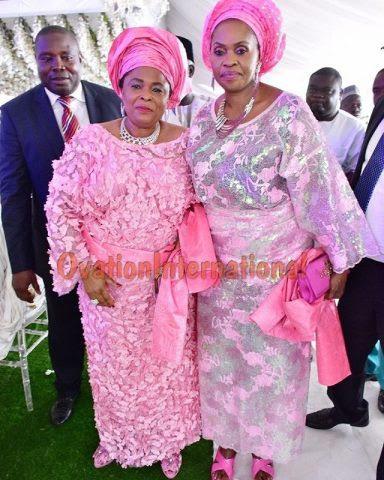 Dame Jonathan and Hajia Bola Shagaya
