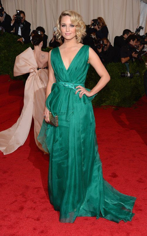 Costume Institute Gala Met Ball - May 7, 2012, Dianna Agron