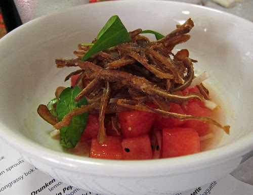 Crispy Pig Ear Salad