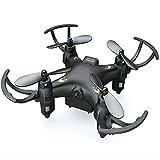 Mygeek Direct FLY9 ドローン 0.3MP HD 空撮カメラ付き4CH 6軸ジャイロ 超小型 RC マルチコプター ミニクアッドコプター 360度宙返りled暗視ライト搭載 mini ヘリコプター(ブラック)