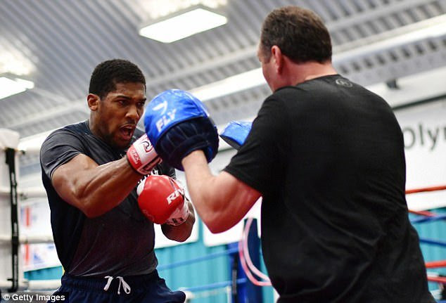 Anthony Joshua afraid of fighting Deontay Wilder – Promoter