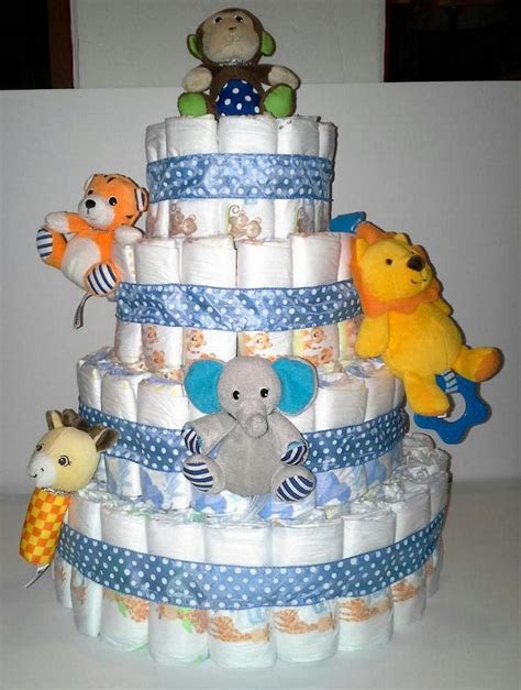 Zoo Animal Baby Shower Cakes   Party XYZ
