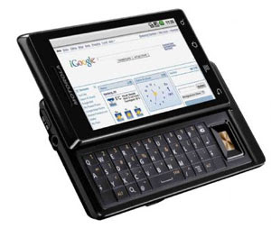 Motorola Milestone é um dos muitos celulares que rodam Android.