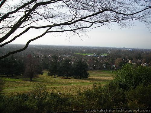 Panoramic view from Richmond Park