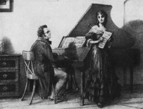 Franz+Schubert+Schubert+playing