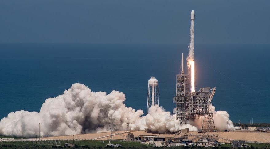 SpaceX Falcon 9 BulgariaSat-1 launch