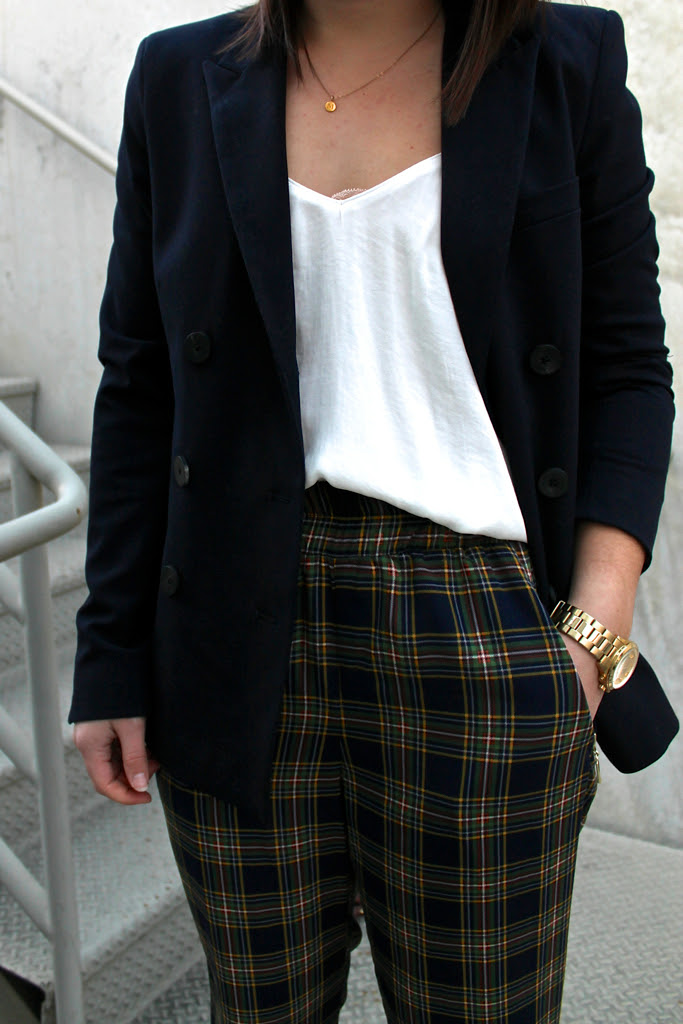 navy-blazer-and-plaid-trousers