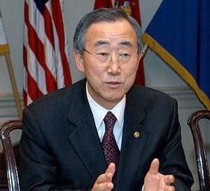 Cropped image of Ban Ki-moon. Description: Sou...