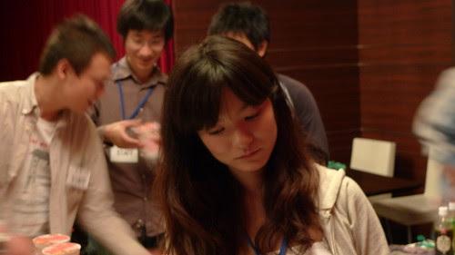 Maiko ponders