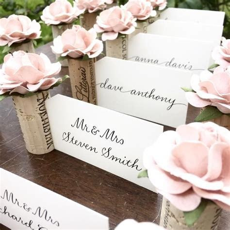Wedding Place Card Holder   Rossouw Wedding 2018   Bridal