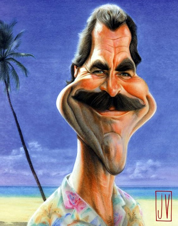 Portrait Caricatures Of Famous Peoples (39)