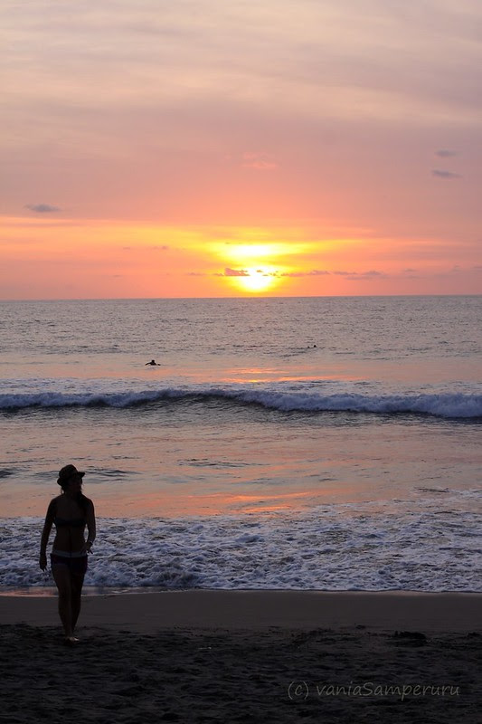 Sunset @ Kuta Beach