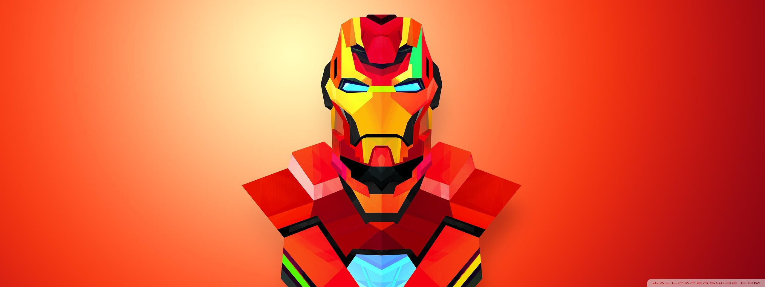 Iron Man Abstract Art Ultra Hd Desktop Background Wallpaper For