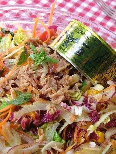 tuna salad - insalata di tonno (tin can recipes)