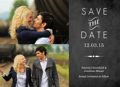 Save the Date Magnets by Wedding Paperie