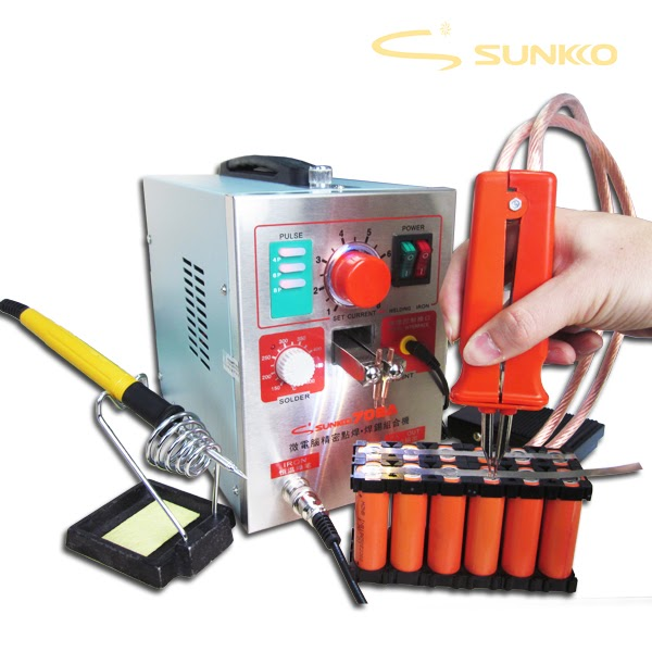 SUNKKO 709AD 2.2KW Preciston Pulse Spot Welder for battery Upgrade of 709A