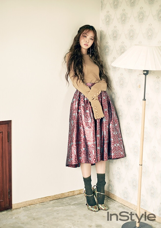 A Pink's Son Na Eun for Instyle Korea September 2016. Photographed by Kim Hyuk