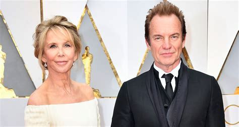 Sting & Wife Trudie Styler are Regal at Oscars 2017   2017