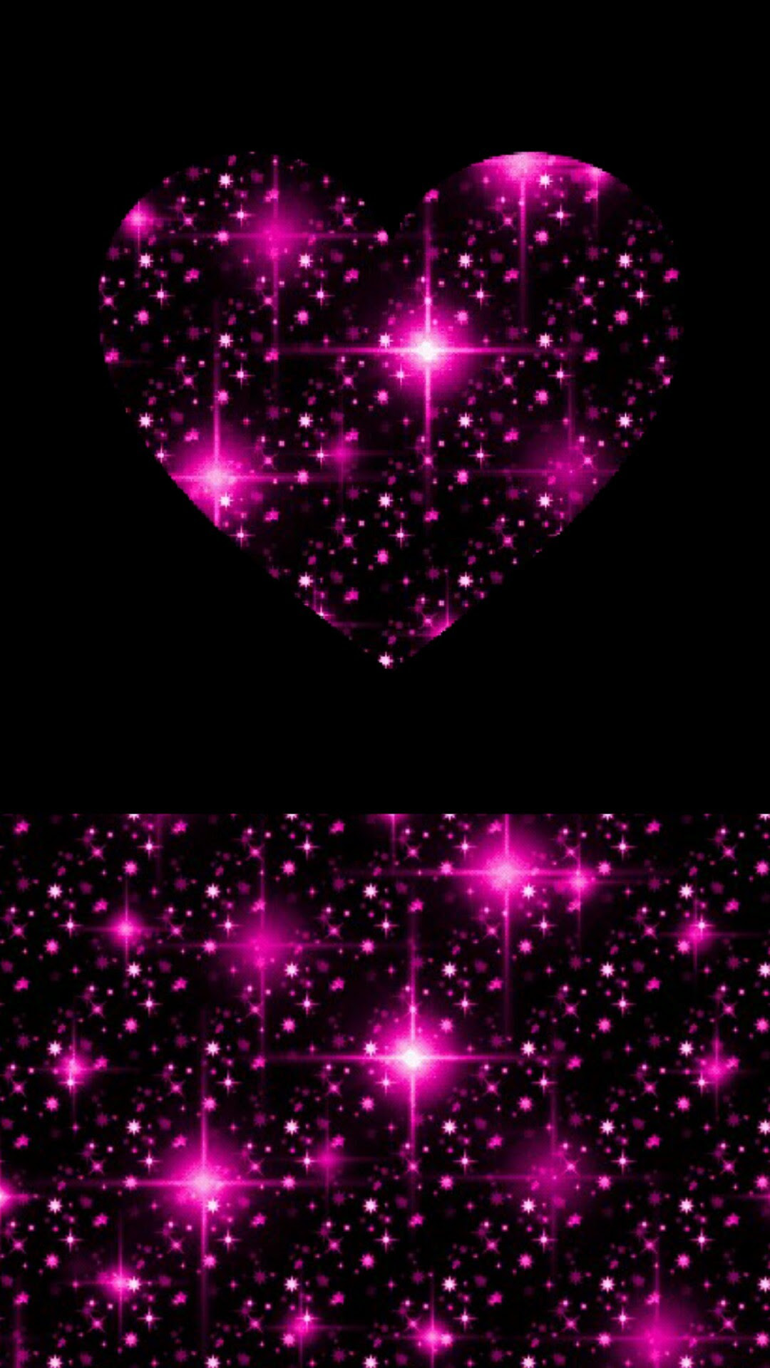 HD Black Wallpaper With Heart Download