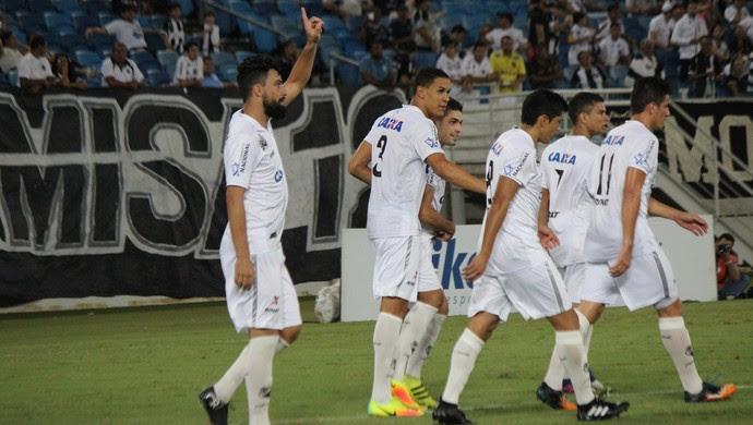 ABC x Potiguar de Mossoró, na Arena das Dunas - gol de Nando (Foto: Diego Simonetti/Blog do Major)