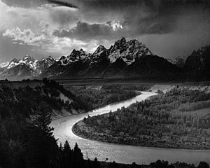 Ansel Adams: The Tetons and Snake River
