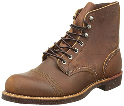Red Wing Heritage 6 Inch Iron Ranger Boot,Copper,8 D US