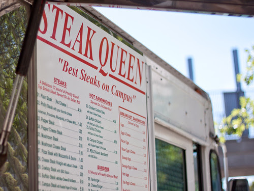 Steak Queen signage