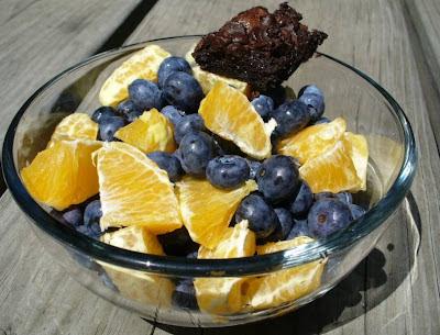 Blueberry snack