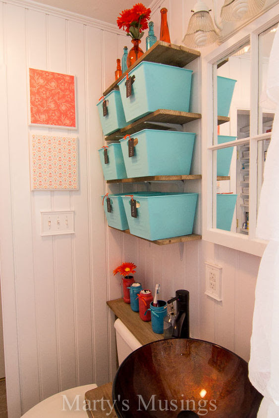 Make Your Small Bathroom Look Bigger: Install Beadboard ...