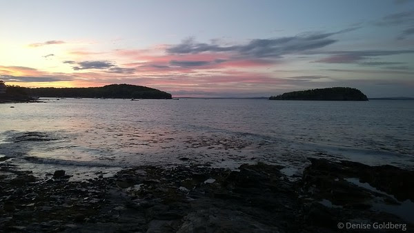 sunset, Bar Harbor, Maine
