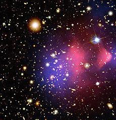 "<B>La materia oscura esiste<br>scoperta enorme ""ragnatela""</B>"