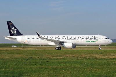 EVA Air Airbus A321-211 WL D-AVZG (B-16206) (msn 5806) (Star Alliance) XFW (Gerd Beilfuss). Image: 913849.