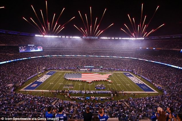 The 87,000-capacity MetLife Stadium outside New York is the proposed ground for the final