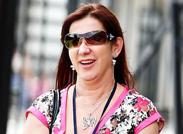Rosemary Noronha, em viagem à Costa Rica, em 2009