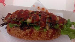 Polenta Sausage Roll from Spoon's Vegetarian Butcher