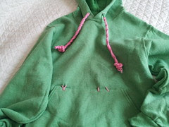 Vanellope's sweatshirt