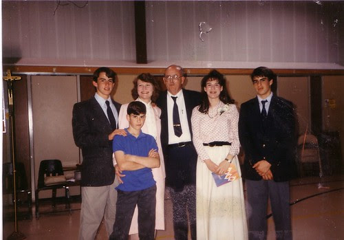 Family picture-Confirmation-1987 or 1988