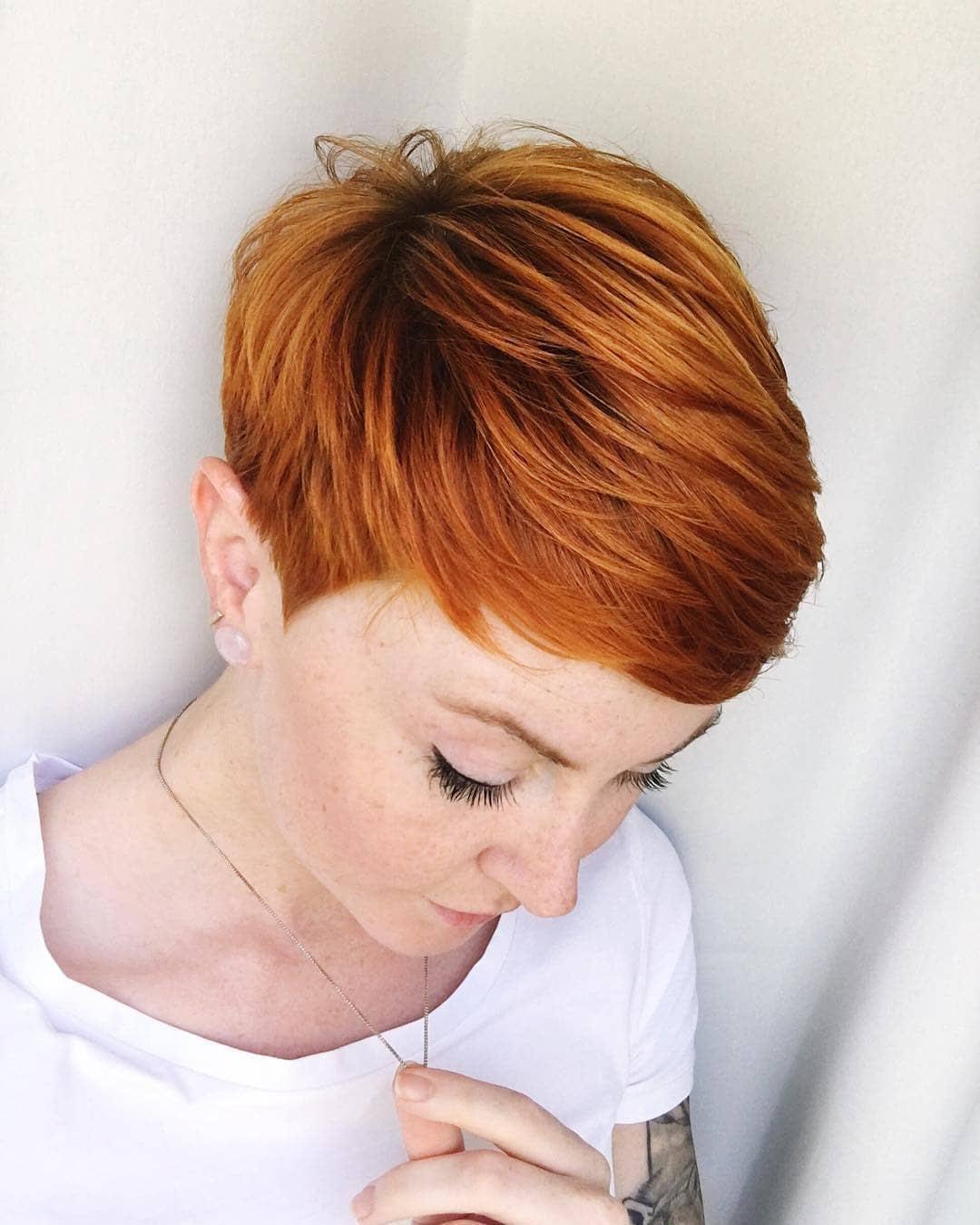 Latest Short Straight Hairstyles Female Short Hair Cuts Popular
